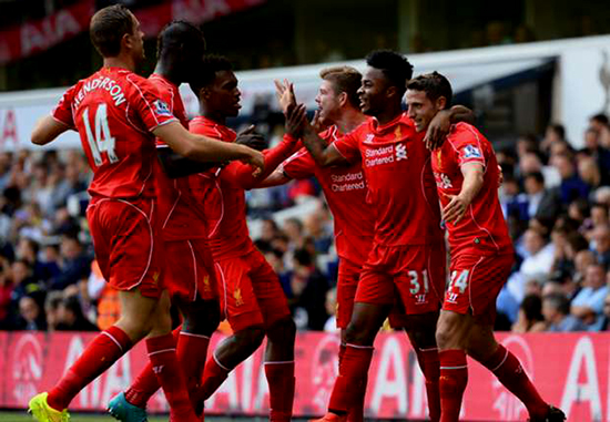Liga Primer Inggris - Tottenham Digilas Habis oleh Liverpool