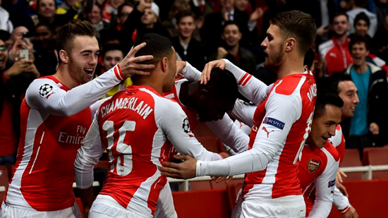 Arsenal Menunjukan Kualitasnya di Liga Champions