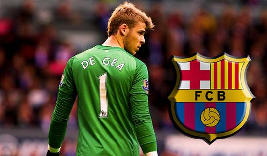 Barcelona Tertarik Beli David De Gea