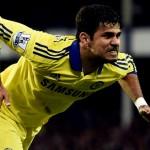 Diego Costa Pemain Terhebat Chelsea