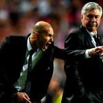 Zidane mendukung ancelotti tetap bertahan di Mardid