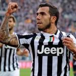 Carlos Tevez Striker Terbaik Pilihan Juventus