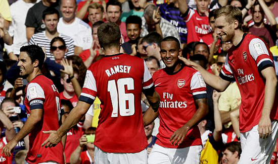 Arsenal Berusaha Memenuhi Target Bertahan Di Zona Liga Champions