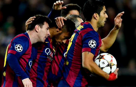 Barcelona Semakin Dekat Dengan Gelar Liga Champions Eropa