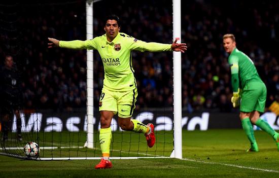 Penampilan Istimewa Suarez di Liga Champions musim ini