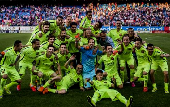 Barcelona Juara La Liga Spanyol - Bola212Bet
