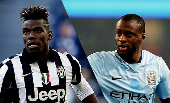 Paul Pogba Dapat Menjadi Pengganti Yang Tepat Untuk Yaya Toure Di Manchester City