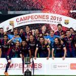 Skor Pertandingan Final Barcelona 3 vs 1 Athletic Bilbao
