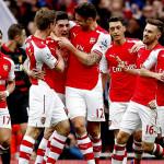 Persiapan Pra Musim Arsenal Melawan Singapore Select XI