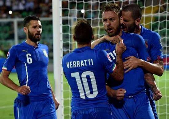 Impian Timnas Italia di Euro 2016