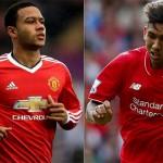 Menanti Duel Firmino VS Depay Saat Liverpool Melawan Manchester United