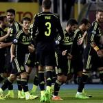 Spanyol Menang Beruntung saat Melawan Macedonia