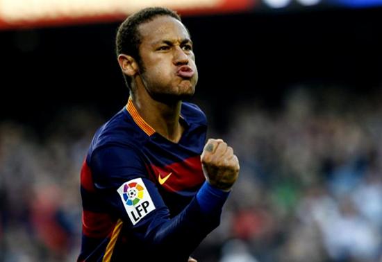 Neymar, Pemain Terbaik Ke-2 Setelah Messi