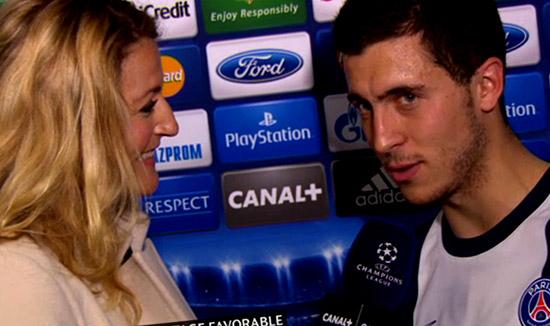 Eden Hazard Mengaku Sulit Menolak Jika Ada Tawaran Pindah Ke Paris Saint Germain