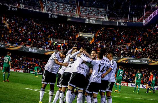 Valencia Bikin Rekor Di Liga Eropa