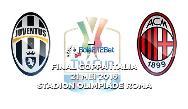 Juventus Menantang AC Milan Di Partai Final Coppa Italia