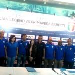 Legenda Hidup Sepak Bola Italia Bertandang ke Indonesia
