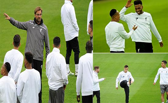 Persiapan Liverpool Menjelang Leg Kedua Melawan Borussia Dortmund