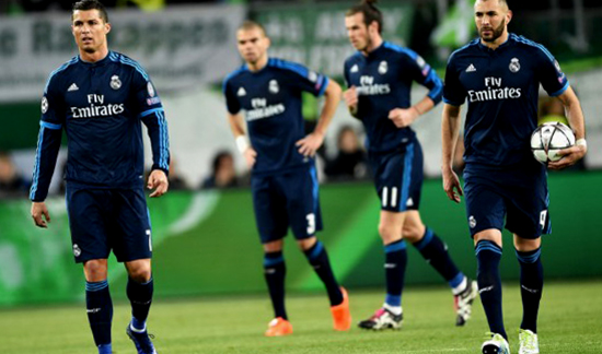 Real Madrid Terluka Setelah Kekalahannya Denga Wolfsburg