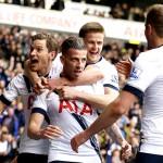 Tottenham Hotspur Mengatasi Manchester United Di White Hart Lane
