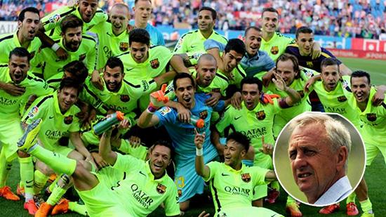 Kesuksesan Barcelona, Luis Suarez Dan Johan Cruyff Di Musim Ini
