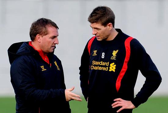 Rodgers Rindukan Steven Gerrard