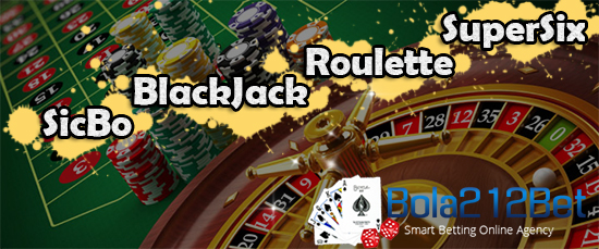 Jenis-jenis Permainan Casino Live di Bola212Bet