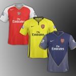 Bocoran Jersey Terbaru Arsenal Musim 2015-2016