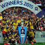 Skor Pertandingan Final Piala FA Arsenal 4 vs 0 Aston Villa