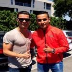 Anwar El Ghazi Mendengar Pendapat Ronaldo Soal Negara Mana yang Harus Dipilih