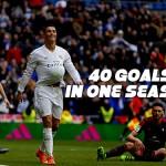 Ronaldo Berhasil Mencetak 40 Gol Pada Semua Kompetisi Di Musim Ini