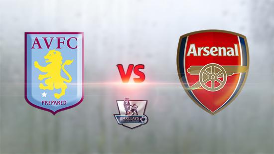 Prediksi Pertandingan Arsenal vs Aston Villa 15 Mei 2016